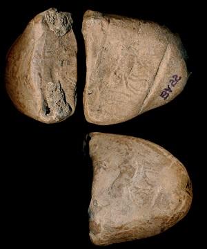 Tablette cunéiforme de provenance incertaine, 2100-2000 av. J.-C., BV 22